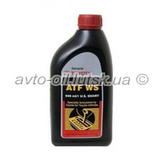 Масло трансмиссии Toyota ATF WS 1L Automatic Transmission Fluid