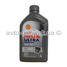 Масло двигателя Shell 5w-30 1L Ultra (ACEA A3/B3/C3; VW 504.00/507.00, MB 229.51, BMW Longlife-04)